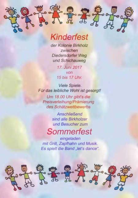 Einladung Kinderfest – thegirlsroom
